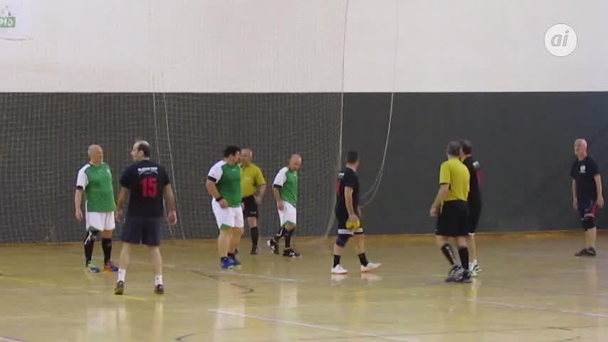 Veteranos Cádiz, campeón del Torneo de Balonmano Diputación