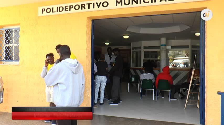 El 'Kiko Narváez' acoge ya a 130 inmigrantes