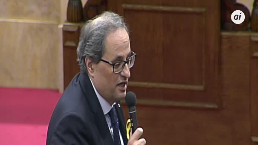 Torra, Mas y Puigdemont piden por carta al Rey una negociación...