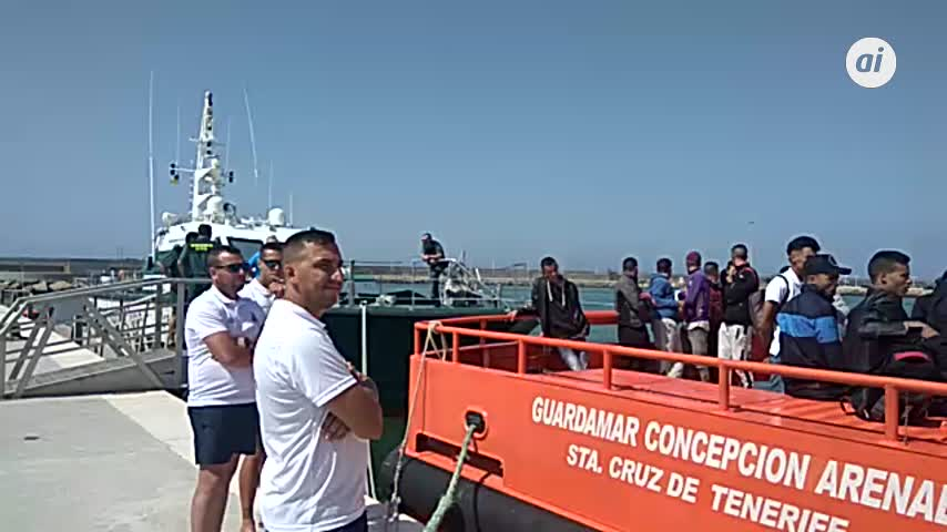 Ascienden a 182 los inmigrantes rescatados en el Estrecho
