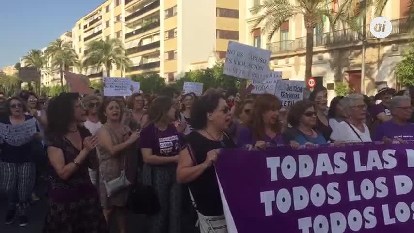 Jerez eleva su voz contra la liberación de los miembros de La Manada