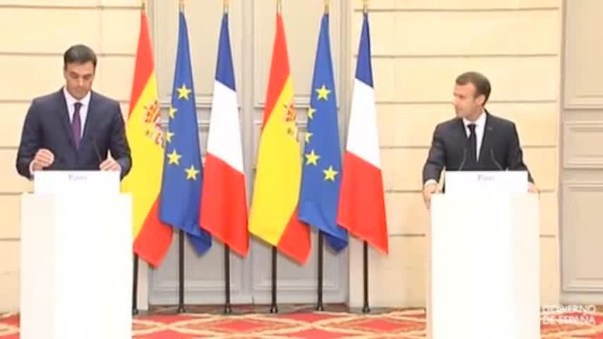 Sánchez se reunirá con Macron en Madrid el 26 de julio