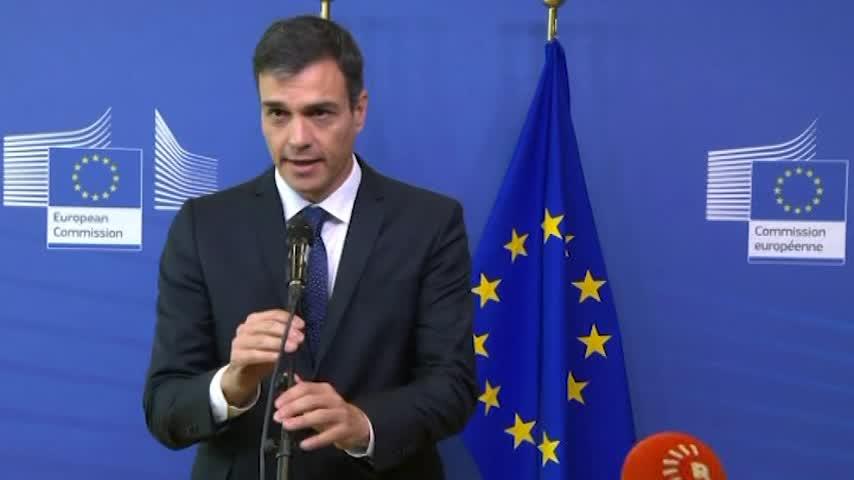 Sánchez busca apoyos en UE para controlar mejor los flujos migratorios