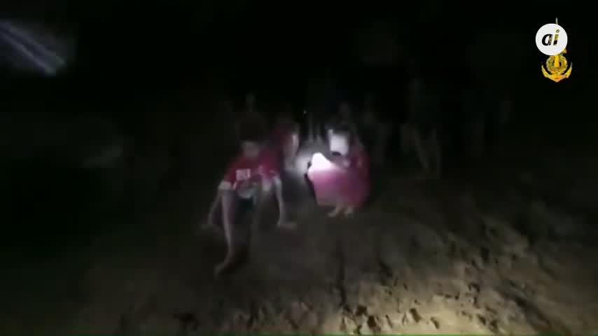 Una semana de la desaparición de 12 niños en una cueva de Tailandia