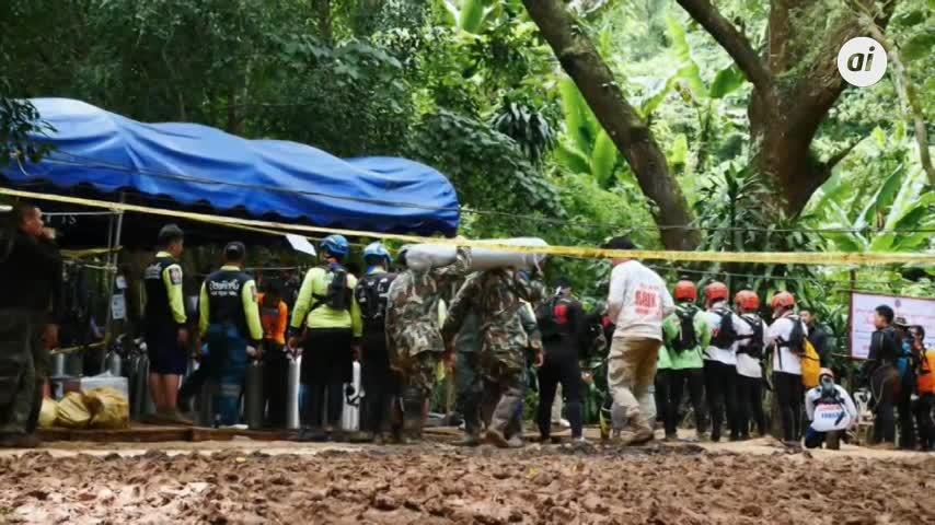 Fallece un buzo en el rescate de los niños en cueva de Tailandia