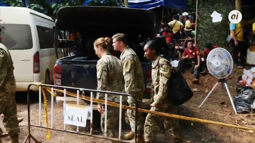 Comienza el rescate de los niños atrapados en una cueva en Tailandia