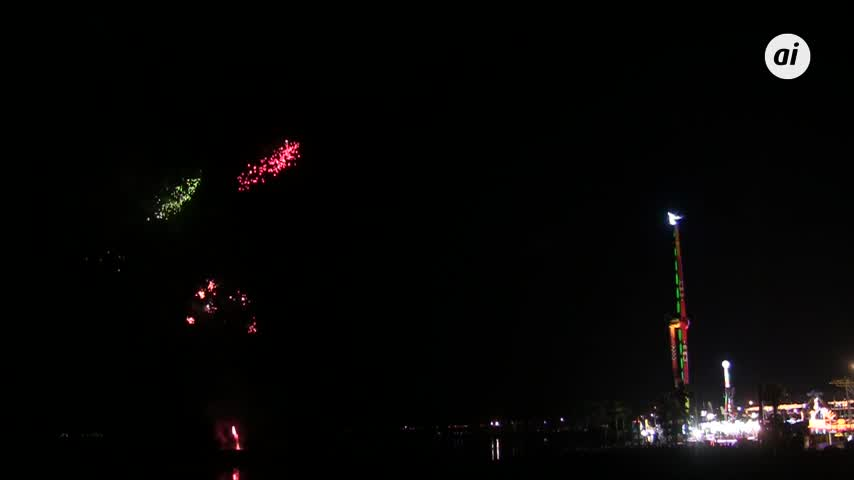 La Feria isleña 2018 se despide con los fuegos artificiales