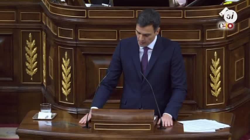 """Sánchez proclama que quiere acordar """"unión y convivencia"""" con Cataluña"""