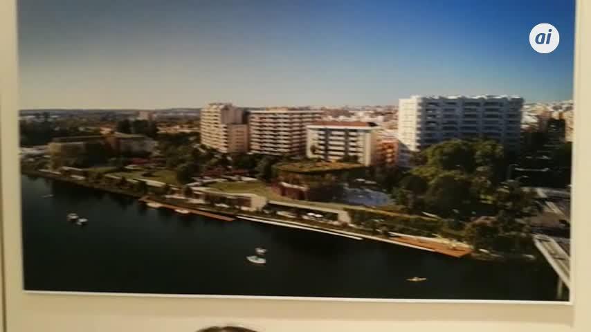 Los Remedios estrenará una terraza verde al río en 2020