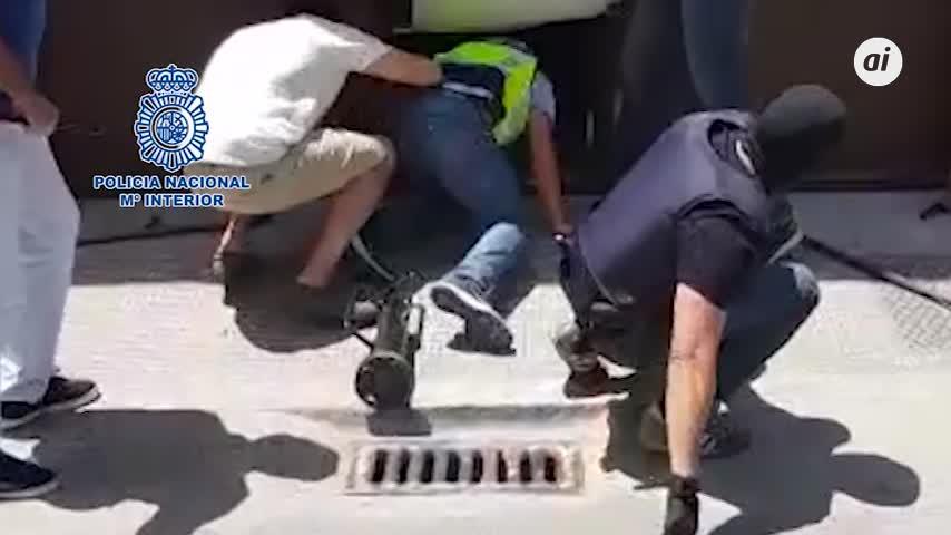 Hacían zulos hidráulicos para ocultar droga en el Campo de Gibraltar