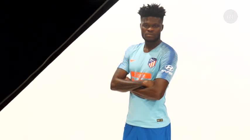 Azul claro para la segunda equipación del Atlético