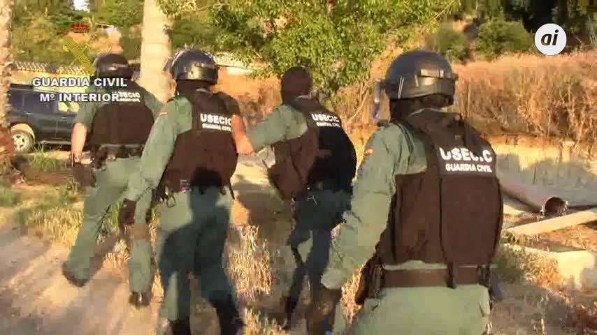 Cae una red que transportaba hachís de la comarca a Málaga