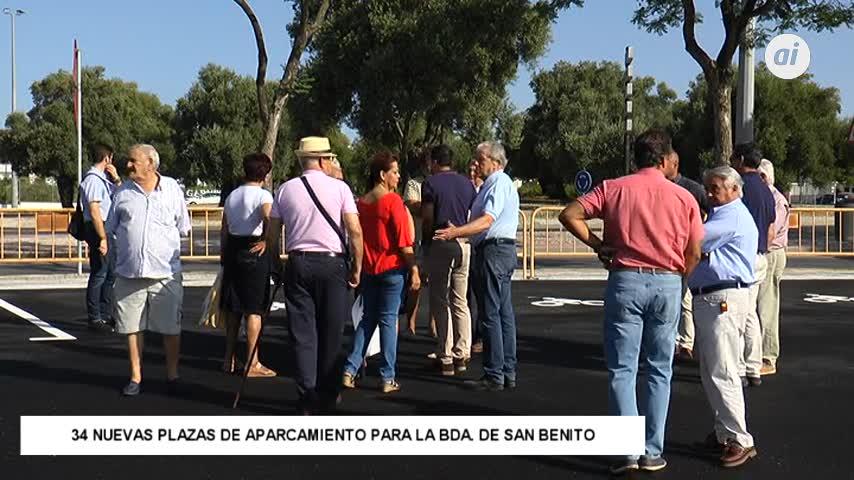 600.000 euros en mejoras en el viario público de San Benito