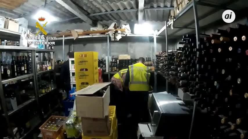 Detenciones en Málaga por venta de vinos de alta gama falsos