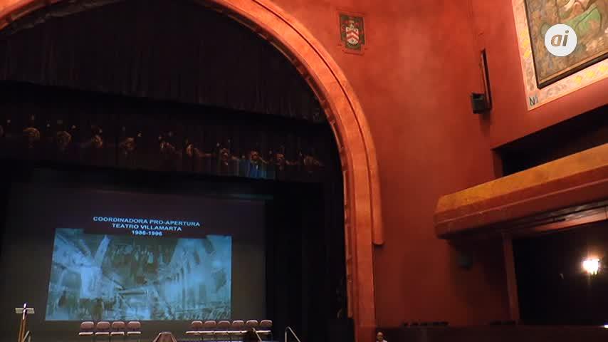 Reconocimiento a los primeros defensores del Teatro Villamarta