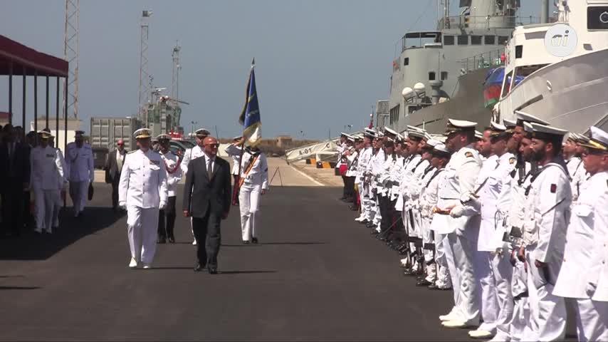 La Armada recepciona en el muelle de La Carraca el BAM 'Audaz'