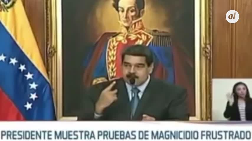Maduro acusa a sus opositores del atentado fallido con drones