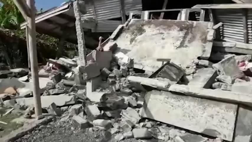 Indonesia eleva a 387 la cifra de muertos por el seísmo en Lombok