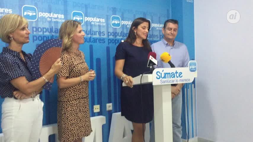 El PP apuesta por Carmen Pérez para recuperar la alcaldía de Sanlúcar