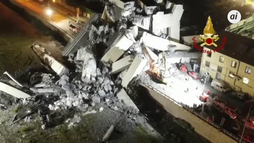 El balance de muertos en el derrumbe de Génova sube a 39