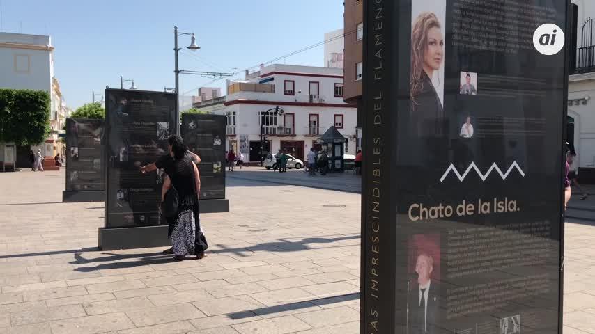 'La Isla, tierra de grande artistas flamencos', en la Alameda
