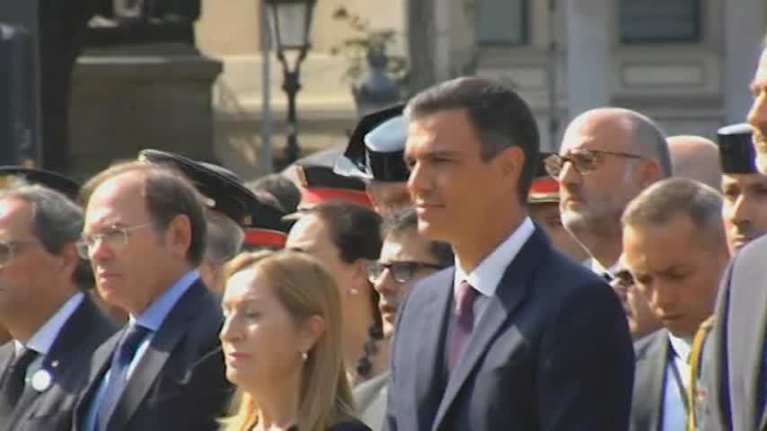 Barcelona rinde homenaje a las víctimas del 17A