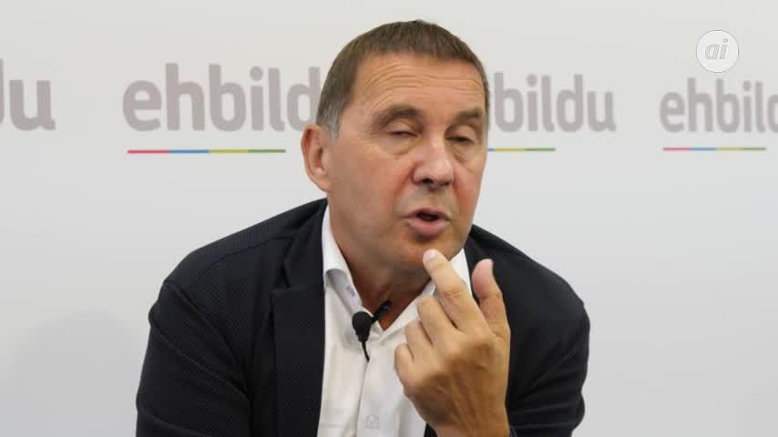 """EH Bildu muestra """"disponibilidad máxima"""" para gobernar con el PNV"""