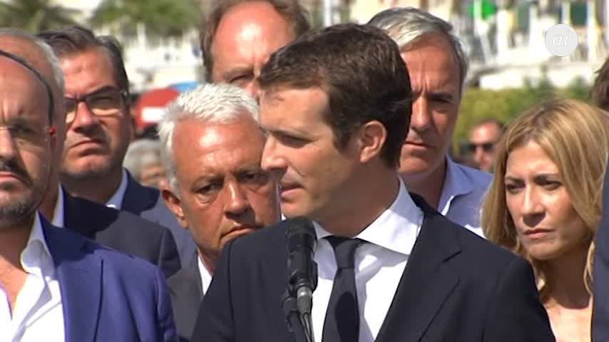Casado exige a la Generalitat que deje de amenazar a las instituciones