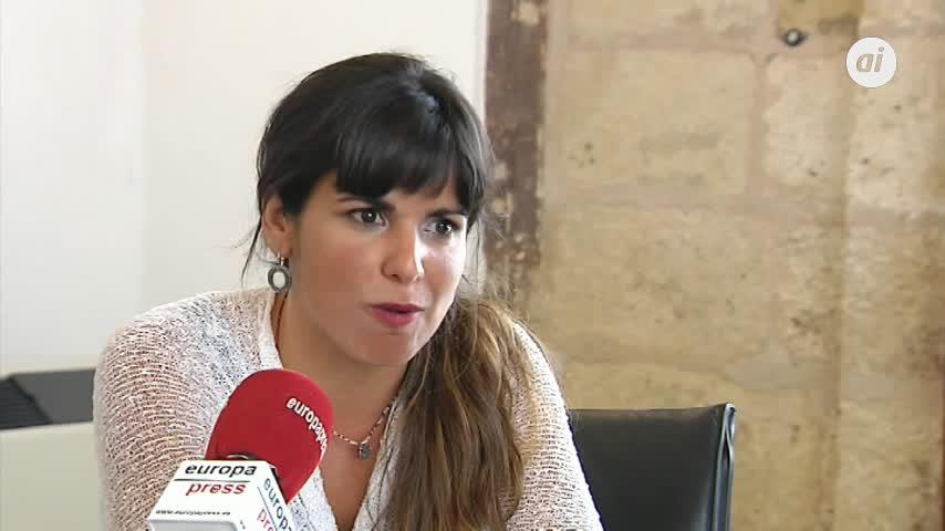 "Teresa Rodríguez critica la ""hipocresía"" de PSOE-A y PP-A"
