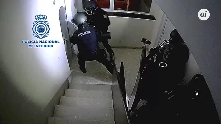 Seis detenidos en Jerez por 'vuelcos' de droga a bandas rivales
