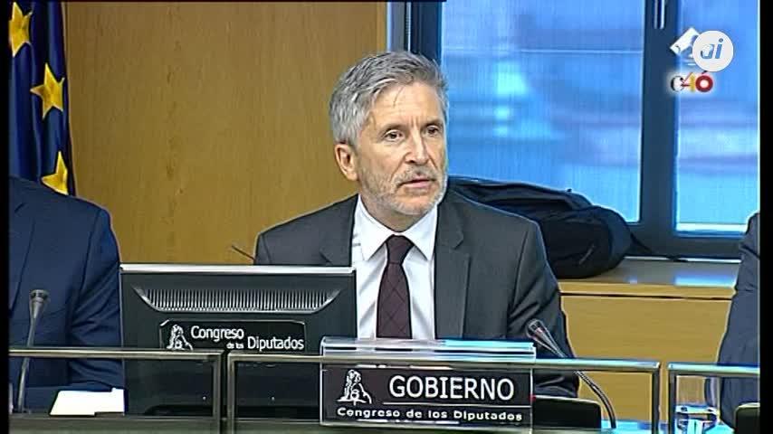 Marlaska insiste en que no habrá traslados colectivos de presos de ETA