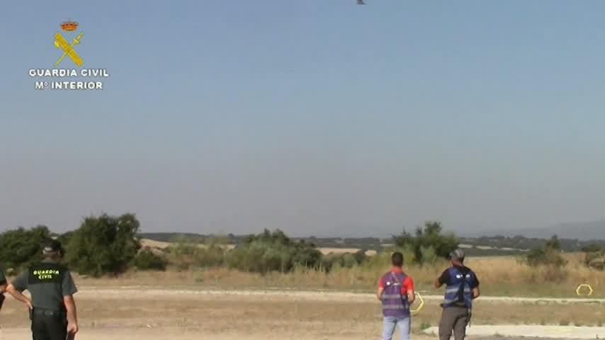 La Guardia Civil cuenta con el Equipo Pegaso para detectar drones