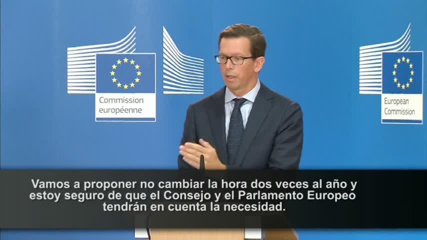 La Comisión Europea propondrá la eliminación del cambio de hora