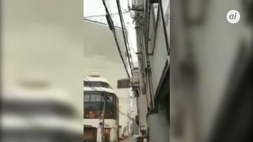 Al menos 10 muertos y 300 heridos en Japón por el tifón Jebi