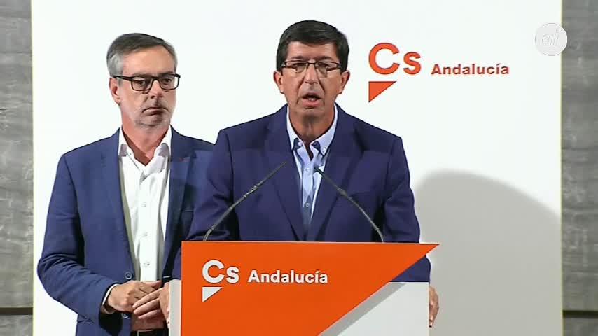 Andalucía, cerca del adelanto electoral: Cs rompe con el PSOE