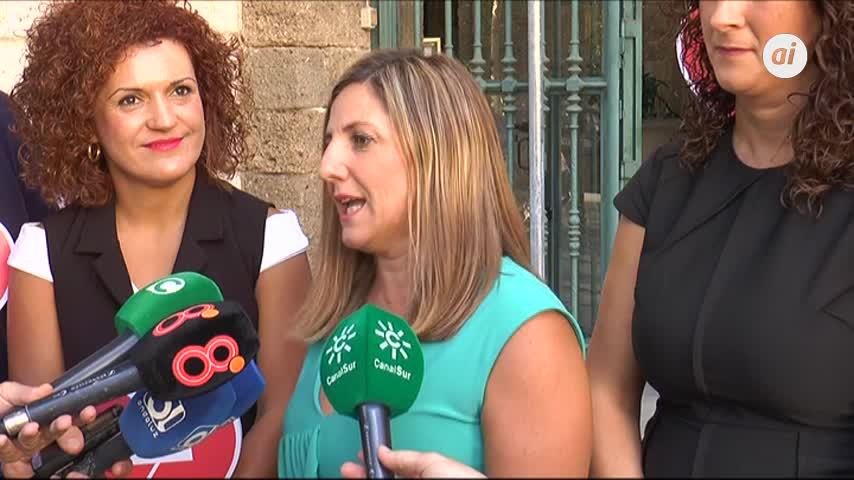 """El """"no"""" a la violencia machista ya está señalizado en la Diputación"""