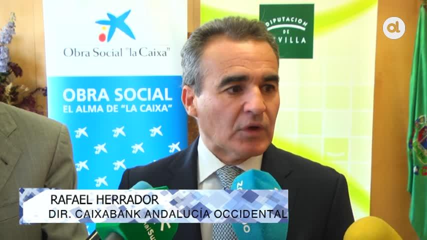 Diputación y La Caixa resparten 20.000 kits de material escolar
