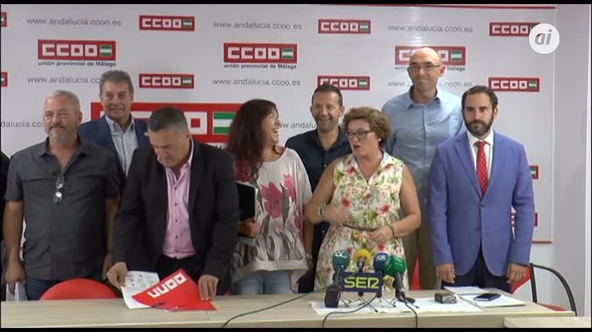 Clamor contra la liberación de los horarios comerciales en Málaga