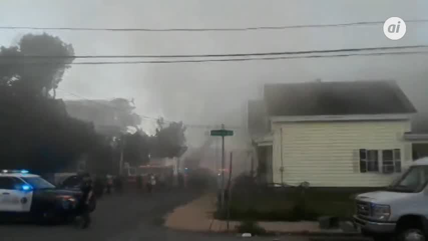 Decenas de explosiones de gas en Boston causan un muerto y 12 heridos