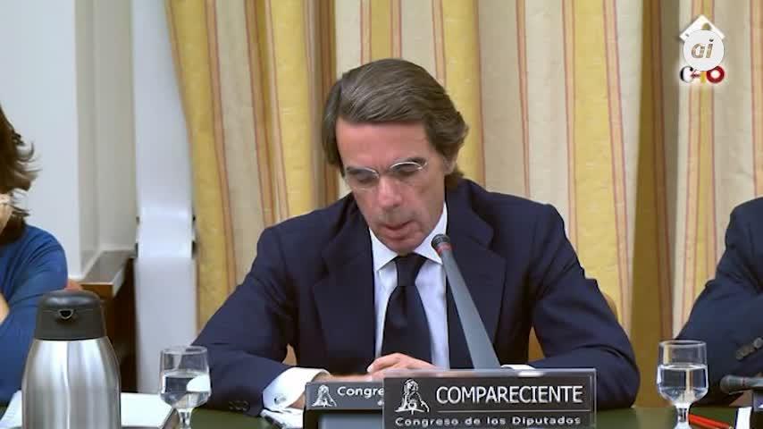 """Aznar rechaza pedir """"perdón"""" por la corrupción en el PP"""