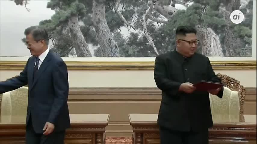 Las dos Coreas firman acuerdo militar para reducir la tensión