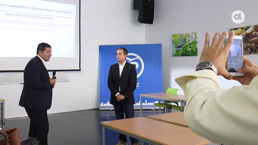 Saldaña señala como su principal prioridad crear empleo en Jerez