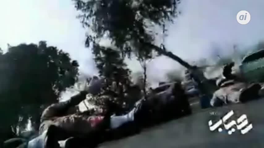 Al menos 10 muertos en el atentado contra un desfile militar en Irán