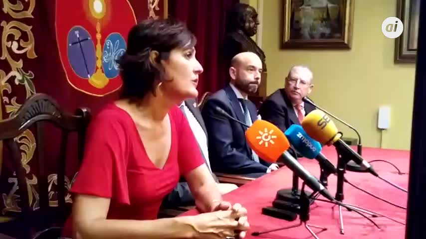 Charo Padilla, primera mujer pregonera de la Semana Santa