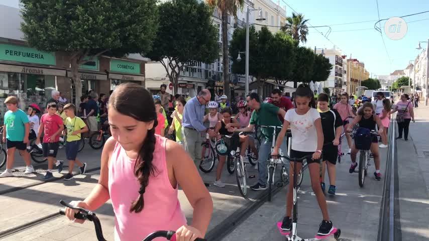 La Ecoescuela CEIP San Ignacio celebra el Día de la Movilidad