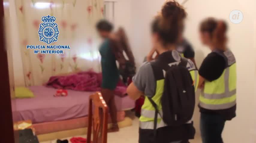 Un detenido en Algeciras de una red que forzó a mujeres a prostituirse