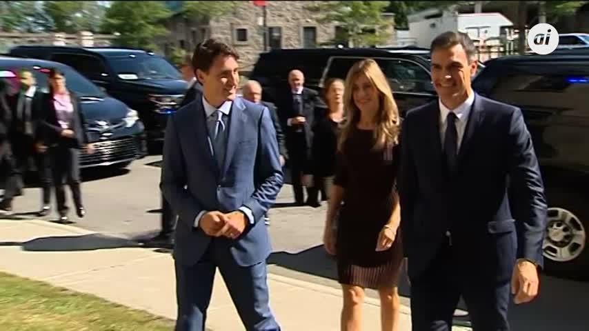 Sánchez y Trudeau fijan como prioridades la cooperación bilateral