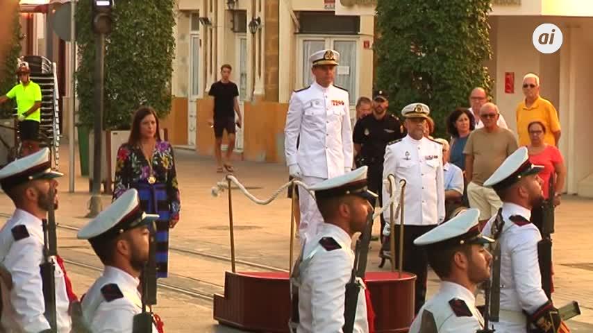 La Armada se suma en una edición más a los actos del 24 de Septiembre