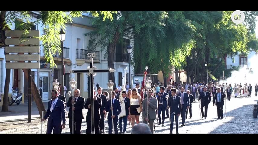 La Merced pasea por Jerez sus ocho siglos de historia