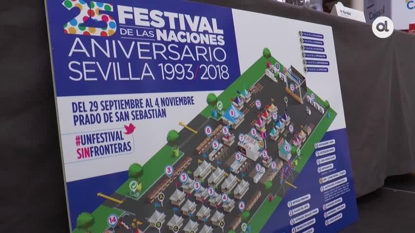 El Festival de las Naciones cumple sus bodas de plata en Sevilla